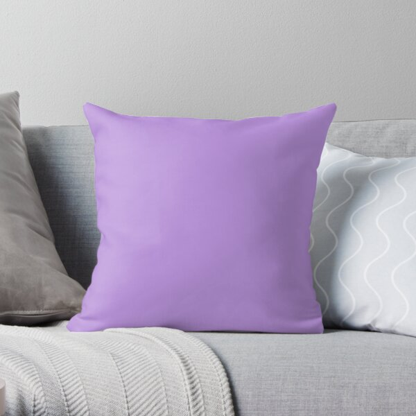 Bright Lavender - Lowest Price On Site - Accent Color Decor Throw Pillow
