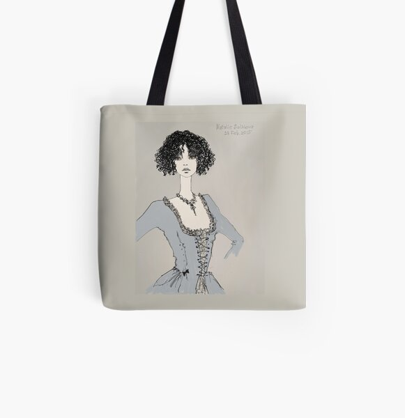 mistress of a small hotel All Over Print Tote Bag