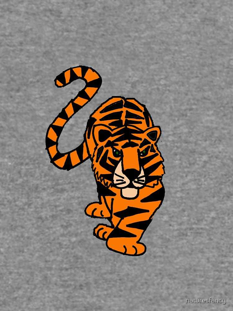 Fun Prowling Tiger Cat Original Art by naturesfancy