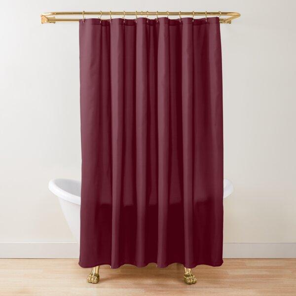 Dark Burgundy - Lowest Price On Site Shower Curtain