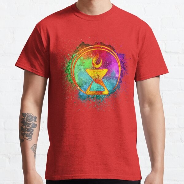 Cosmic Watercolor Chalice Classic T-Shirt