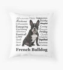 Cojín Rasgos del Bulldog Francés