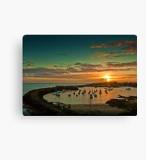 Wollongong Harbour Canvas Print