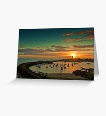 Wollongong Harbour Greeting Card