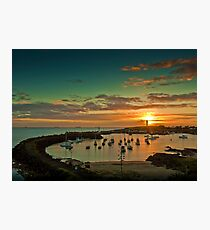 Wollongong Harbour Photographic Print