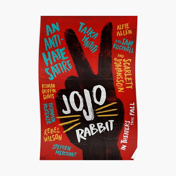 Jojo Rabbit Sticker Poster