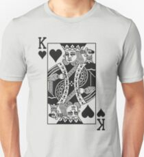 King of Hearts - Black T-Shirt