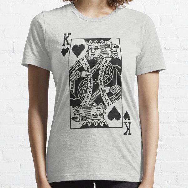 King of Hearts - Noir T-shirt essentiel
