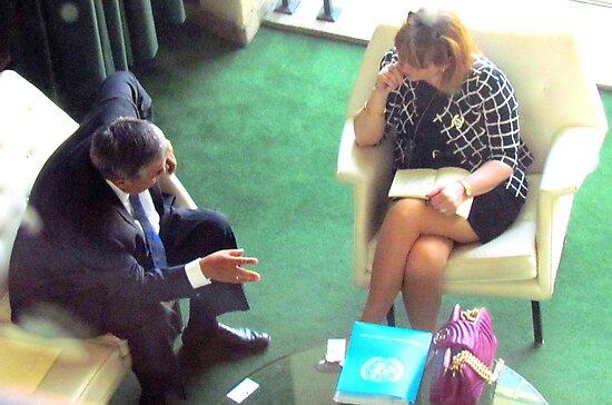 Business Meeting, United Nations - NYC by Alberto  DeJesus