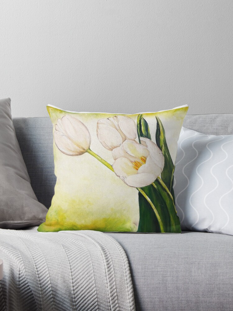 54. White Tulips by mviljoenart