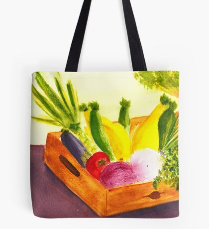 Saturday Market Tote Bag
