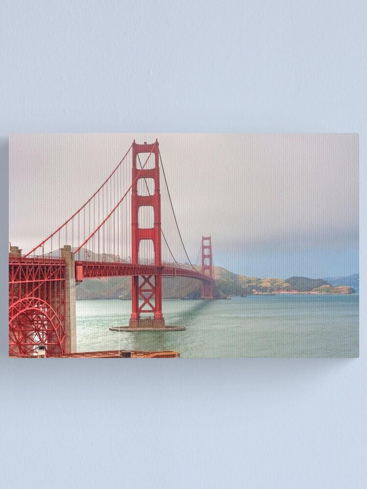 Alternate view of Golden Gate Bridge Canvas Print