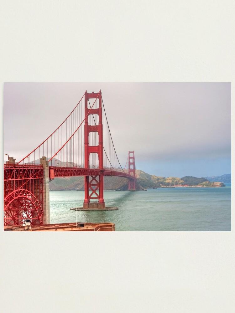 Alternate view of Golden Gate Bridge Photographic Print