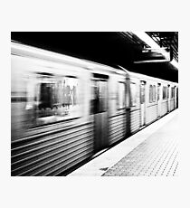 High Train Photographic Print