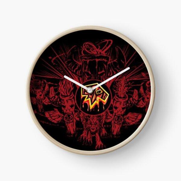 Shaman logo Clock