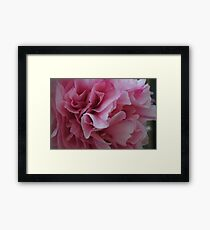 Paper Flower Framed Print
