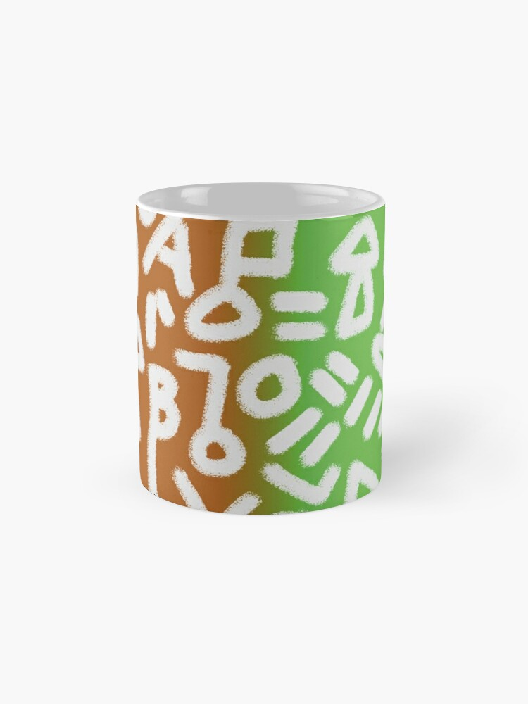 Alternate view of Love letter Mug