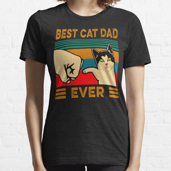 Meilleur papa de chat jamais T-shirt essentiel