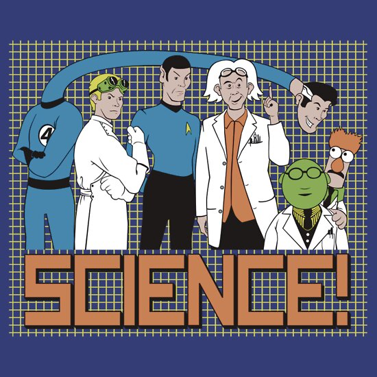 TShirtGifter presents: SCIENCE!