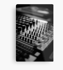 soundboard at the audiolounge Metal Print