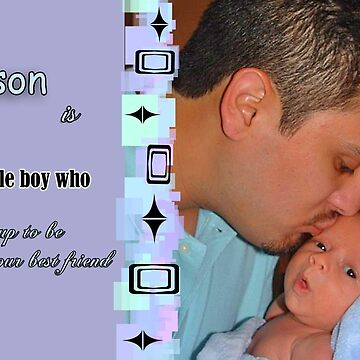 A Father s Tribute To His Son by CiaoBellaLtd