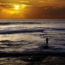 Sunset Fishing, Kalbarri, Western Australia by JuliaKHarwood