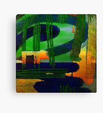 Abstrakte Landschaft Canvas Print