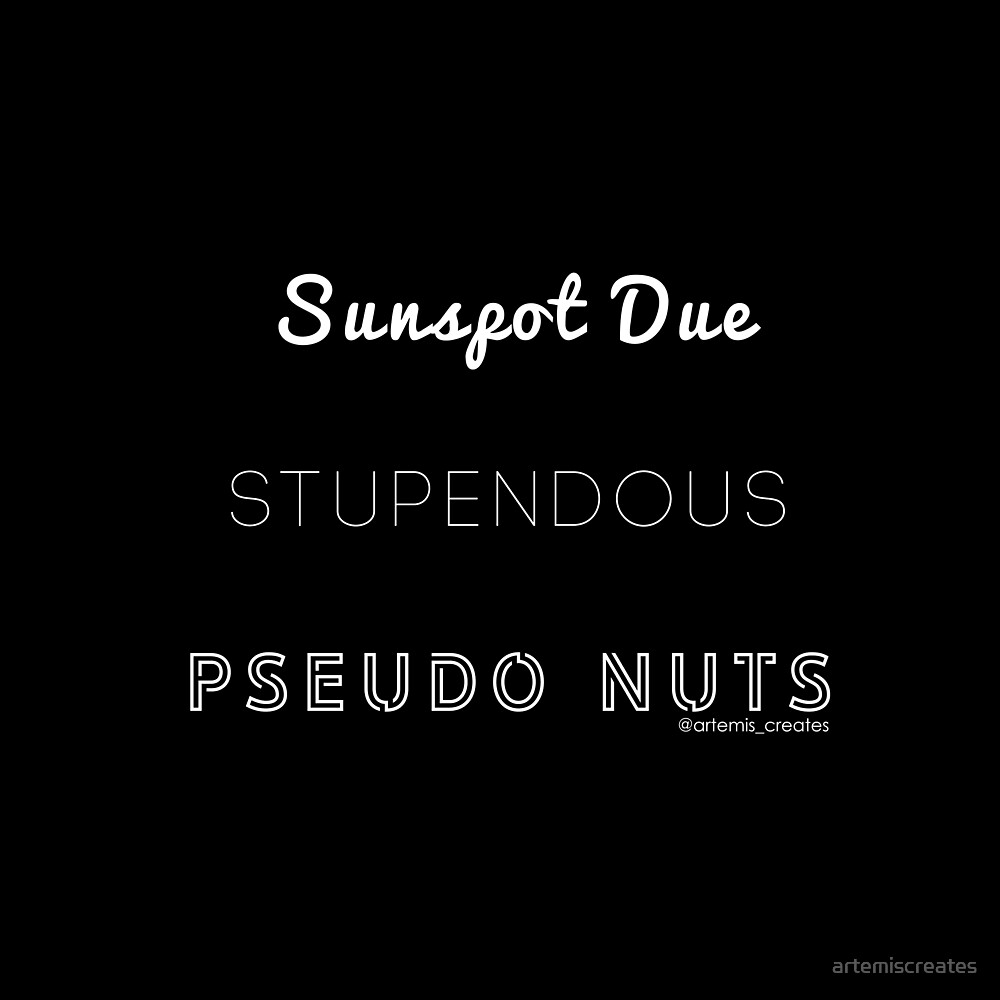 Stupendous Pseudo Nuts by artemiscreates