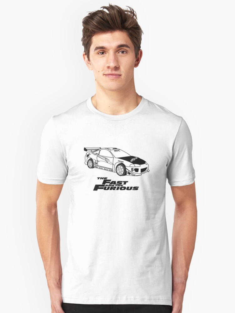 Fast and furios Unisex T-Shirt Front