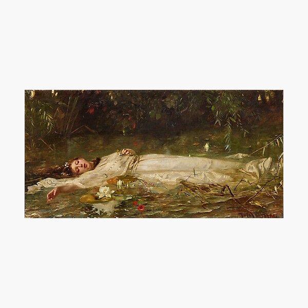 Ophelia by Friedrich Wilhelm Theodor Heyse Photographic Print