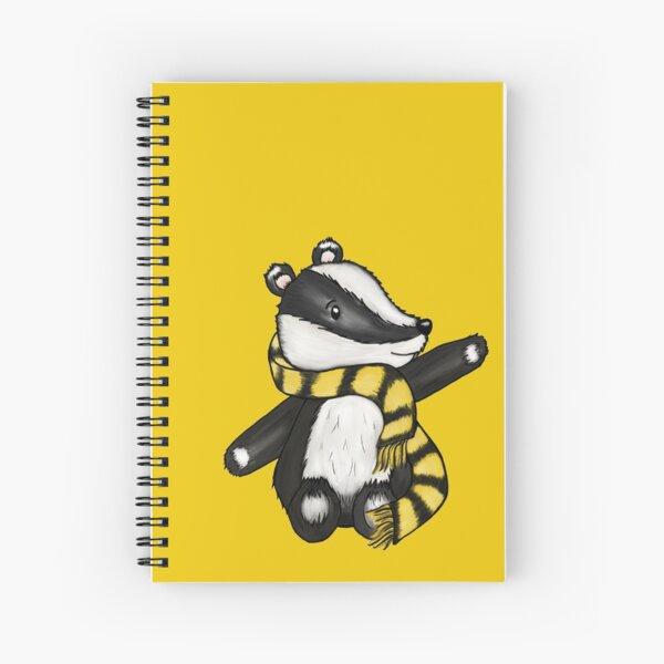 Badger Mascot Spiral Notebook