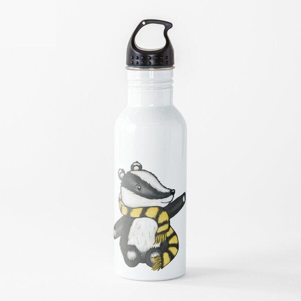 Badger Mascot Water Bottle