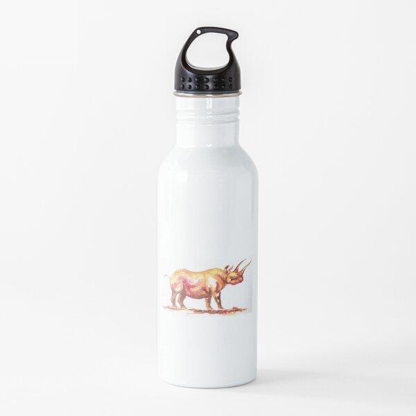 Black rhinoceros Water Bottle