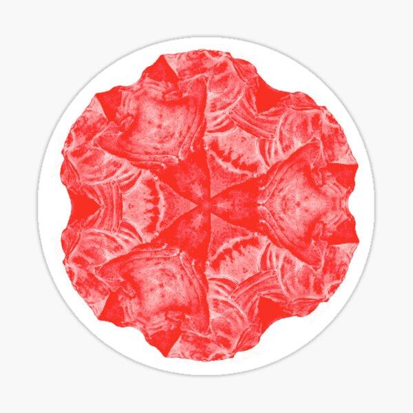 Red crystal Sticker