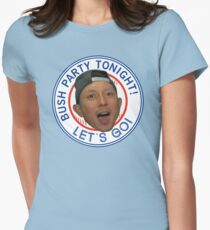 KAWASAKI BUSH PARTY Women's Fitted T-Shirt