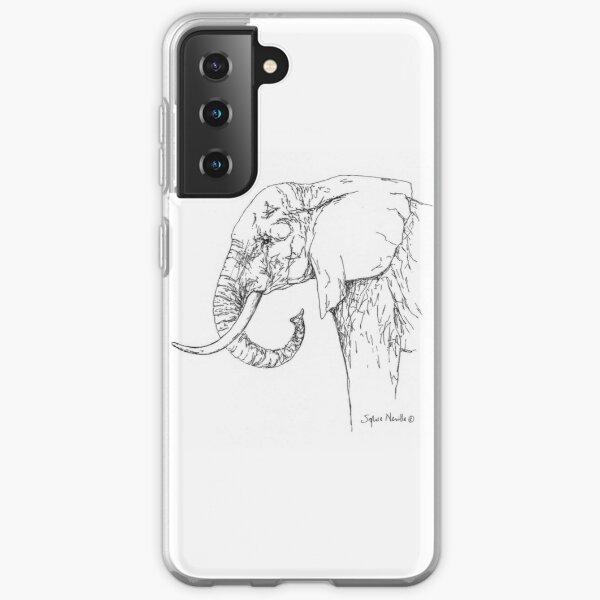 African Elephant - Samsung Galaxy Soft Case