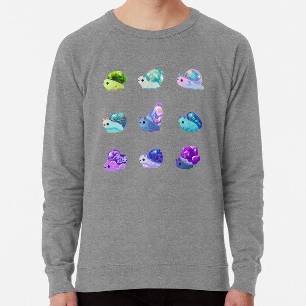 Jewel Snail - pastel Lightweight Sweatshirt