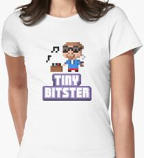 Tiny Tower Bitster Women's Fitted T-Shirt