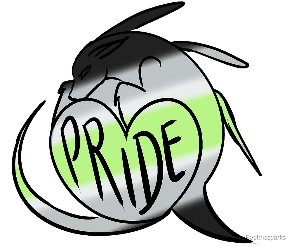 Agender Pride by Feelthesparks