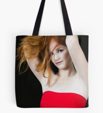 """A Stunning """"Red Hair"""" Tote Bag"""