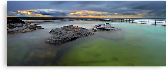 North Curl Curl Baths by Mark  Lucey