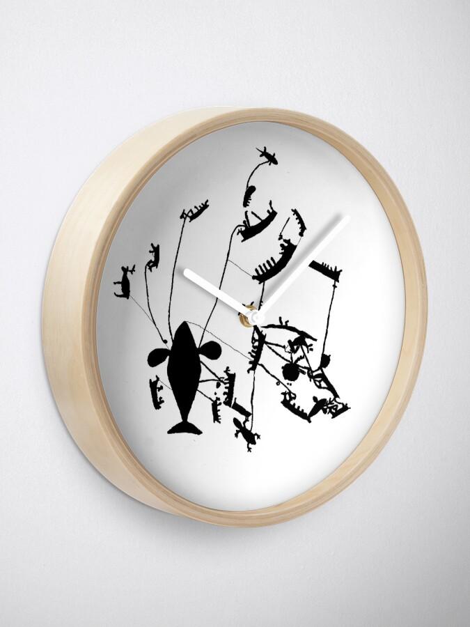 Alternate view of Parachuting Clock