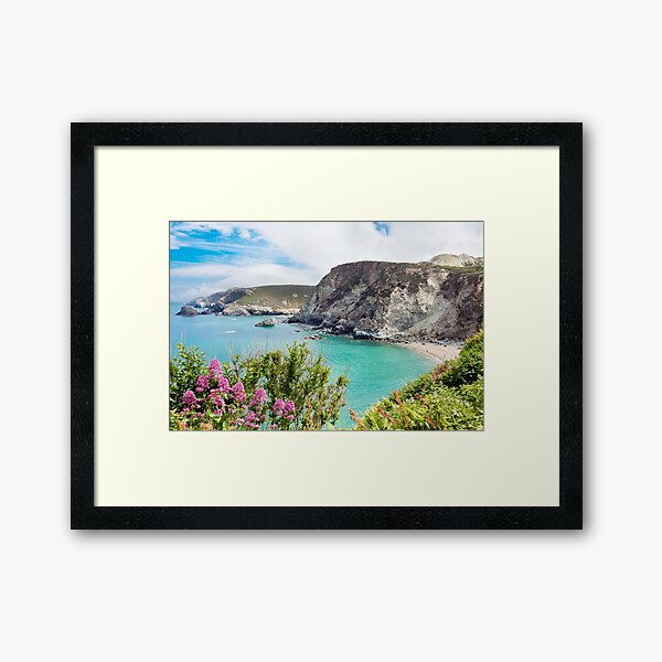 St Agnes Coast Framed Art Print