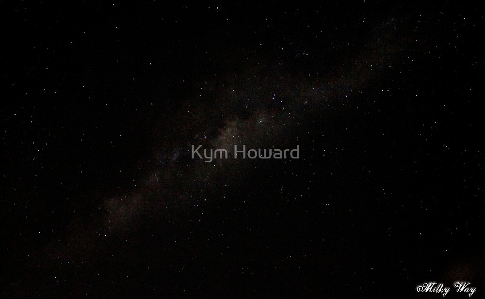 Milky Way by Kym Howard