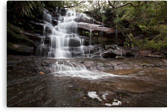 Somersby Falls by Malcolm Katon