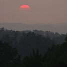 Fading Sun over Morgan County by Kent Nickell