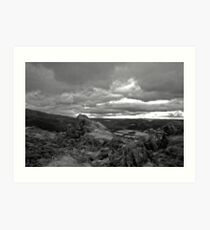 Helm Crag, Lake District Art Print
