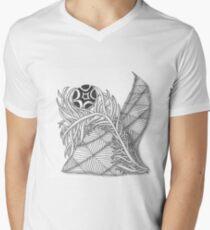 Tenderness Mens V-Neck T-Shirt