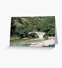 Pont Historique Greeting Card