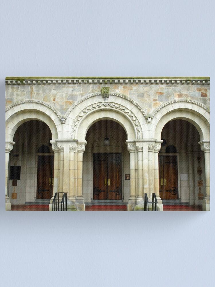 Alternate view of Vassar College Chapel Canvas Print